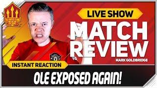 GOLDBRIDGE RANT! Manchester United 1-2 Crystal Palace Match Reaction