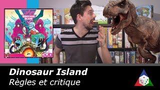 Dinosaur Island - Règles et critique du jeu