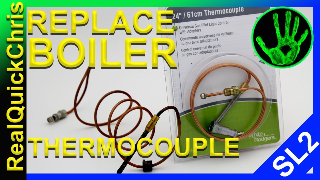 How To Change The Thermocouple On A Boiler And Light Pilot Munchkin Wiring Diagram