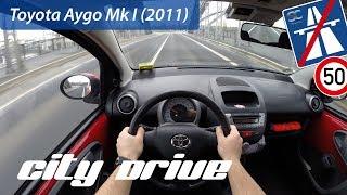 Toyota Aygo Mk I (2011) - POV City Drive