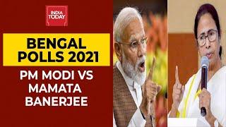 Bengal Polls 2021: Fierce Faceoff Between PM Modi \u0026 Mamata Banerjee Ahead Of Assembly Elections