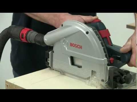 Видео обзор: Пила дисковая BOSCH GKT 55 GCE