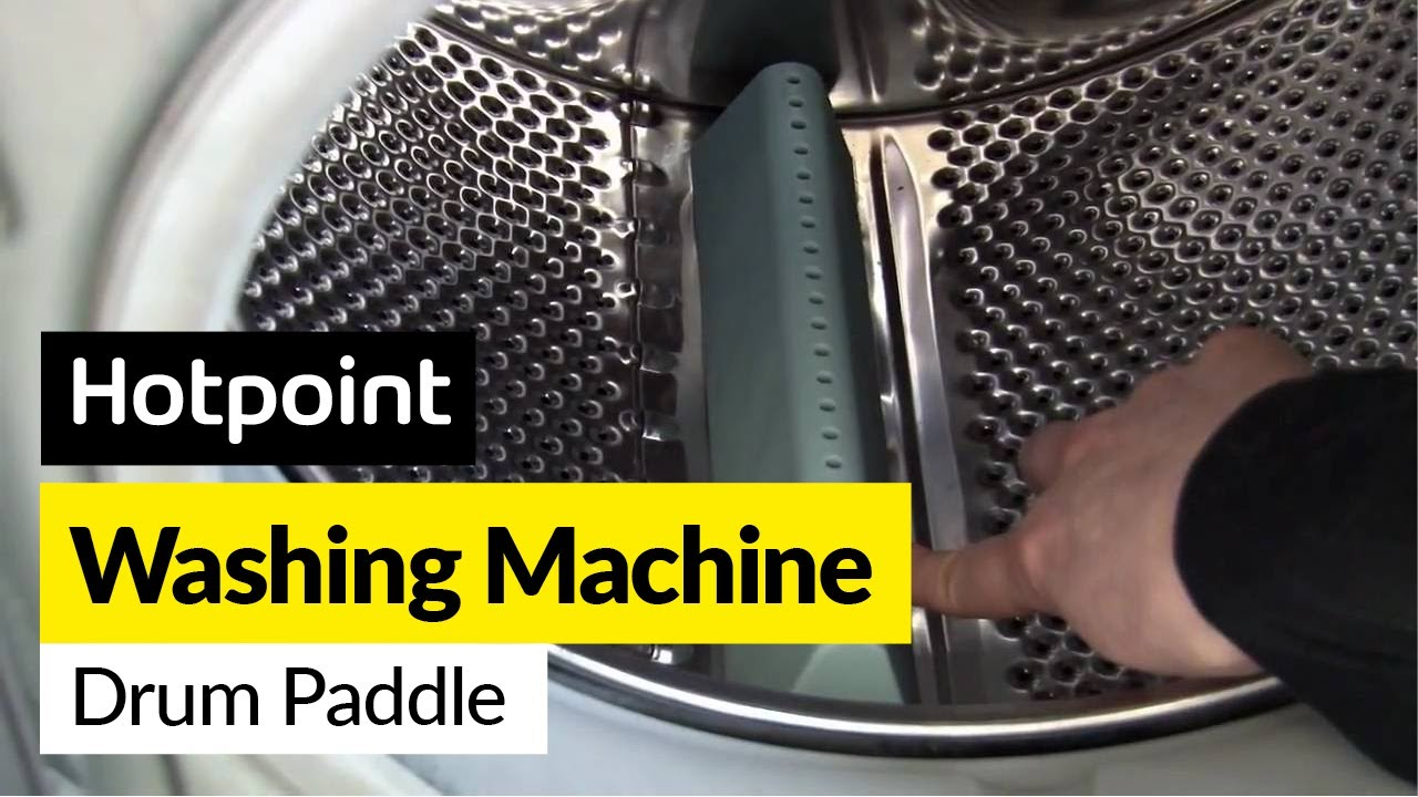 Calentadores De Piscina How To Replace A Washing Machine Drum Paddle In A Hotpoint