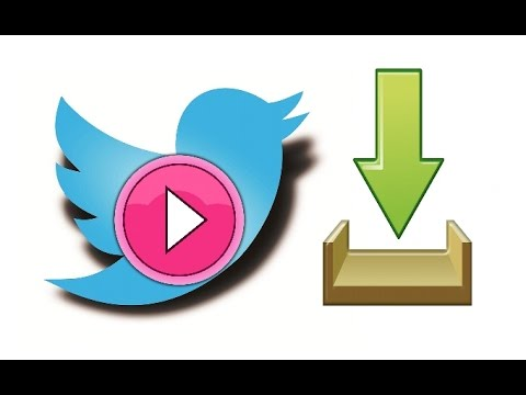 How to save twitter videos on pc