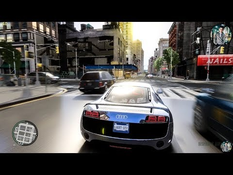Новая GTA 4 с безумной графикой 2020 года!😱