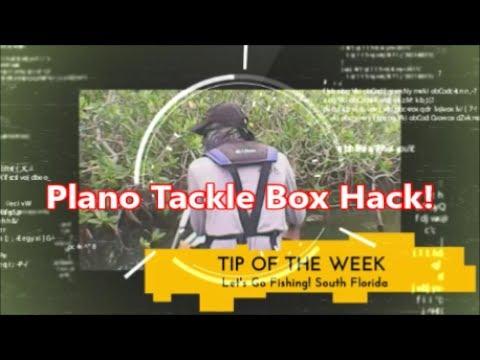 Plano Tackle Box Hack Fishing Tips Tricks And Hacks