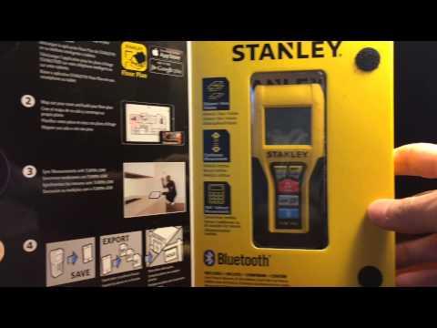 Ultraschall Entfernungsmesser Bdmu040 Fr : Stanley entfernungsmesser tlm youtube