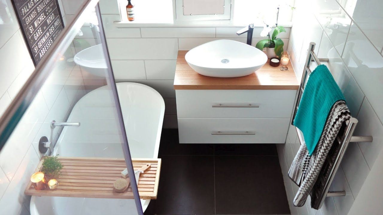 29 Small Bathrooms Design Ideas For Tiny Spaces Youtube