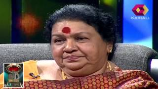 Kaviyoor Ponnamma talks about  her failed marriage