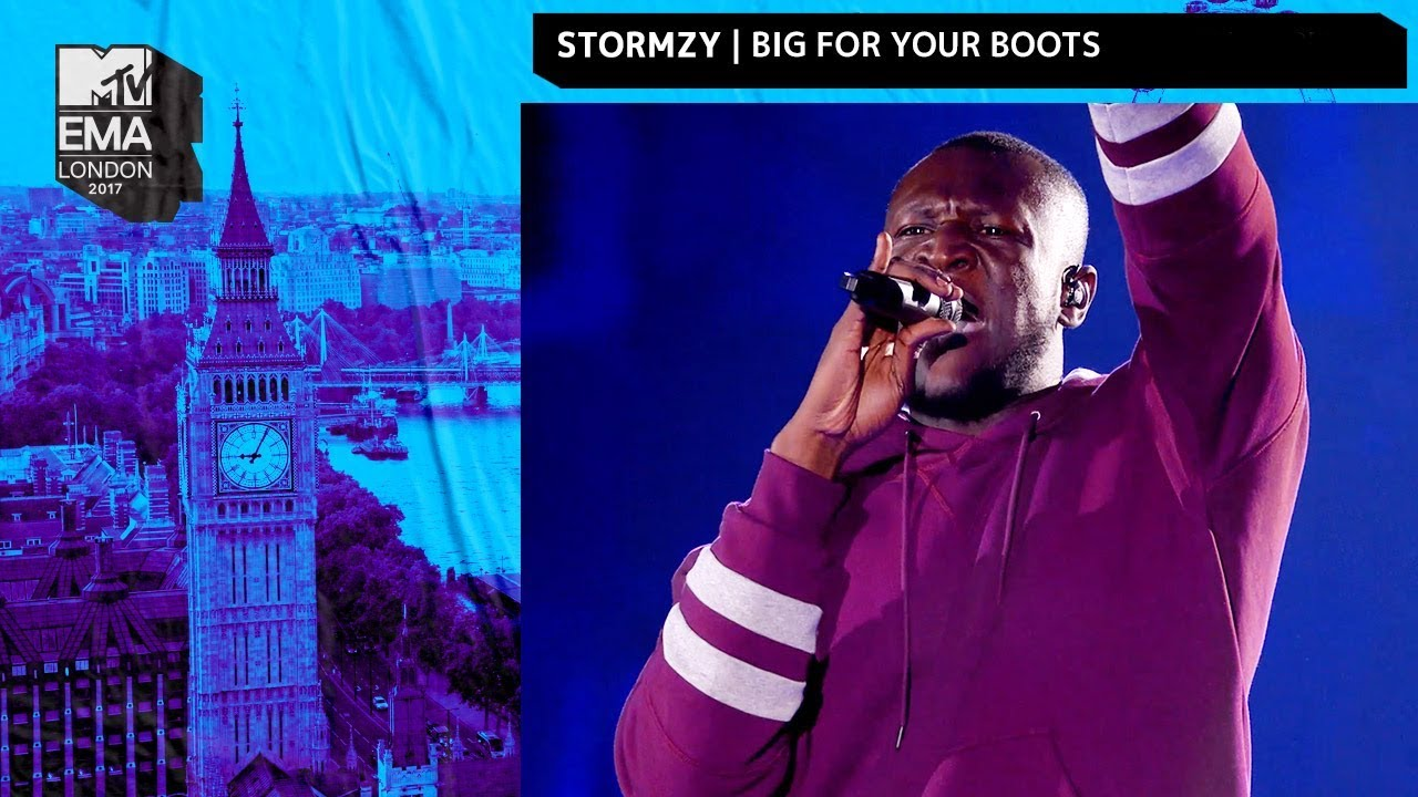 Download Stormzy Performs 'Big For Your Boots' | MTV EMAs 2017 | Live Performance | MTV Music