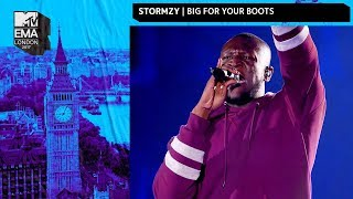 Stormzy Performs 'Big For Your Boots' | MTV EMAs 2017 | Live Performance
