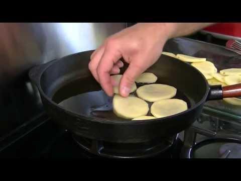 recette-confit-d'oie-aux-pommes-de-terre,-dans-poêle-en-fonte-skeppshult
