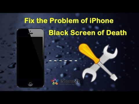 How to Fix the Problem of iPhone X Black Screen of Death