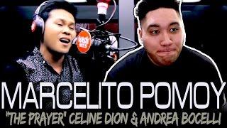 Marcelito Pomoy - The Prayer (Celine Dion/Andrea Bocelli Cover) REACTION!!!