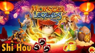 """Monster Legends - Isla China (Año Nuevo Chino) """"Shi Hou"""""""