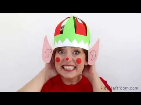 Homemade Elf Hats DIY