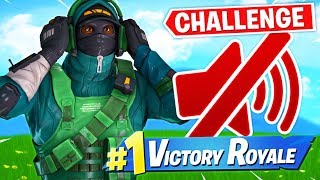 WINNING With *NO SOUND* Challenge! Ft. Muselk & LoserFruit