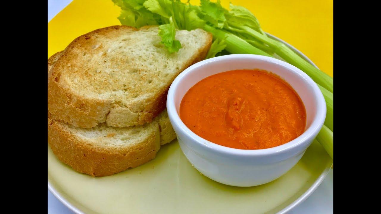 Диетический соус к наггетсам, рыбе, мясу, котлетам   Рецепт из болгарского перца