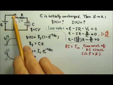 AP Physics C: DC Circuits: RC Circuits 1: Charging a Capacitor 1