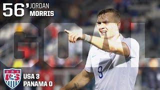 U-23 MNT vs. Panama: Jordan Morris Goal - Oct. 6, 2015