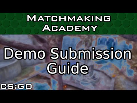 How to Submit a Demo for Matchmaking Academy