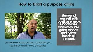 How to Draft a Purpose of Life - Ravindra Perera (RavindraPerera.com)