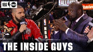 Best Moments From Drake, Denzel Washington, Kevin Hart, The Rock and More On Inside the NBA