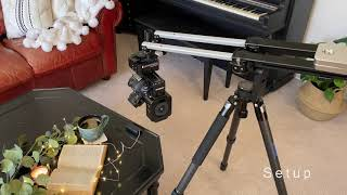 New Year New Gear: Edelkrone JibONE, HeadONE, and Tilt Kit setup with Canon 5D Mark IV Close up.