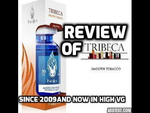Halo Tribeca 70% VG eJucie Review made by Halocigs
