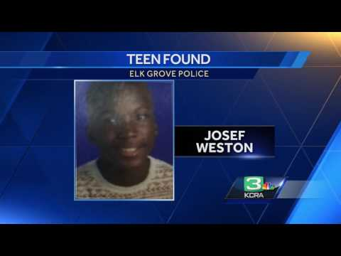 Missing Elk Grove teen found