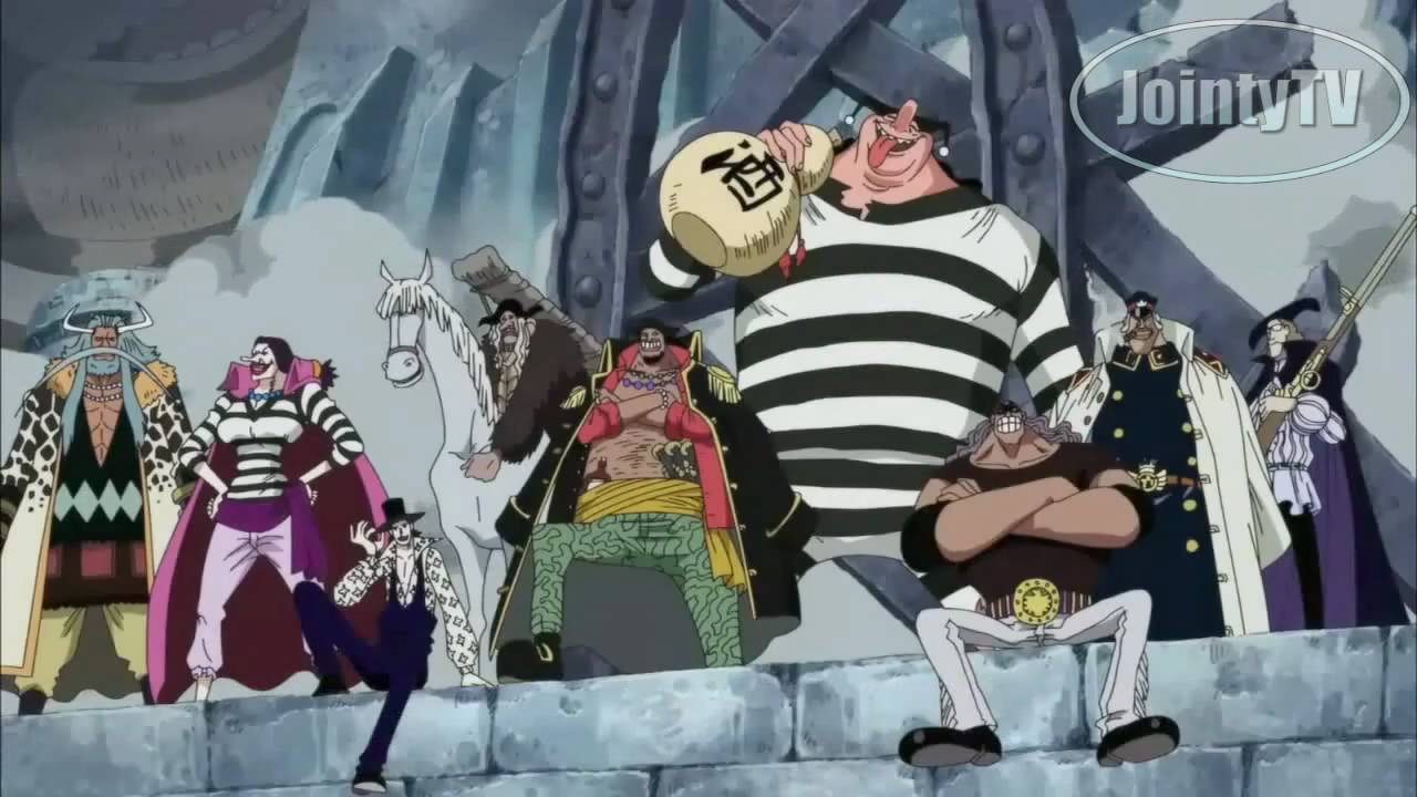 One Piece AMV Whitebeard vs. Blackbeard Piraten! 485 (487 ...