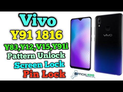 Vivo Y91 1816 Pattern Unlock - Official Roms