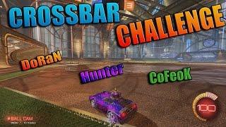 CROSSBAR CHALLENGE! | Rocket League