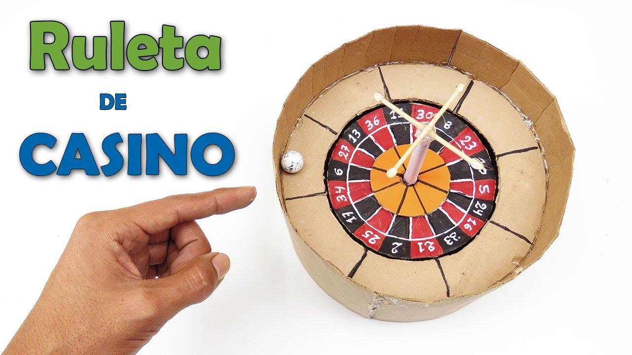 Como Hacer Una Ruleta De Casino (Ruleta De Cartón) - How