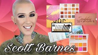SCOTT BARNES: Eye, Face Palettes & Brushes
