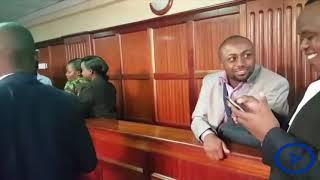 Joe Irungu's calm moments before the bail hearing in Monica Kimani's murder case