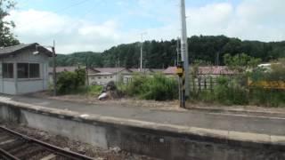 大人の休日倶楽部パスの旅Part33・JR花輪線荒屋新町⇒好摩[車窓](JR Hanawa Line)