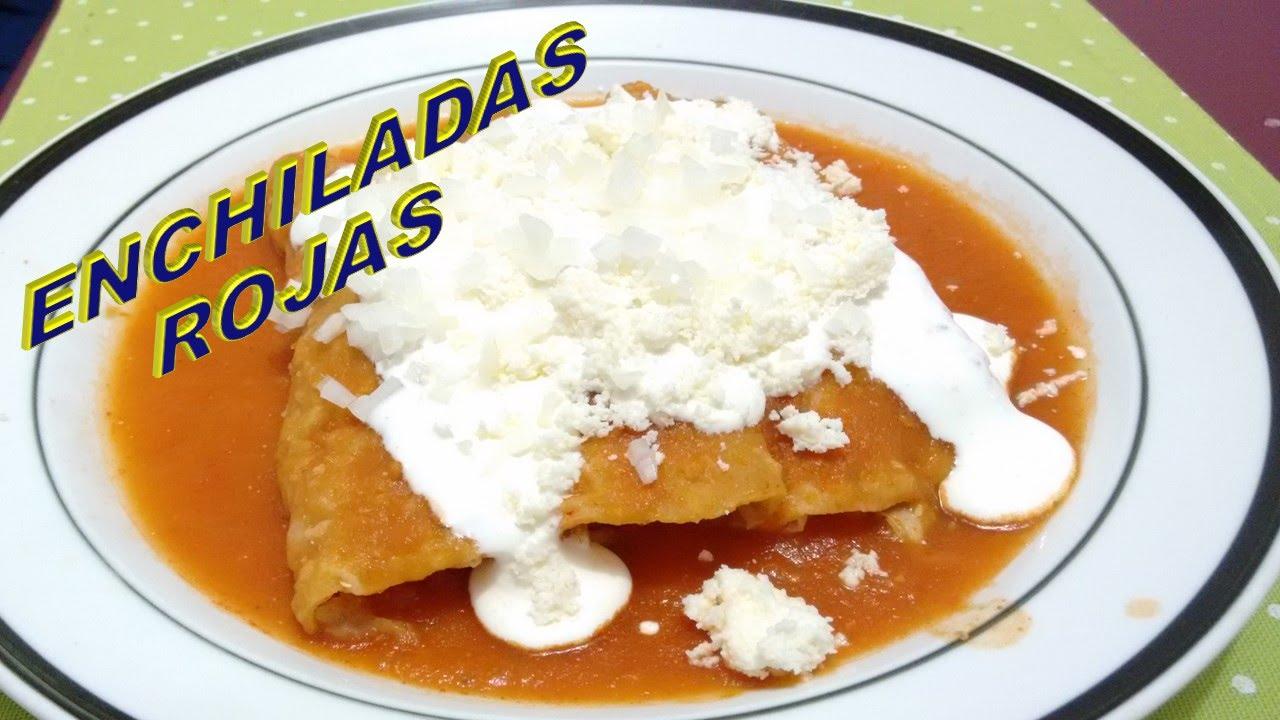Image Result For Receta De Cocina De Enchiladas Rojas