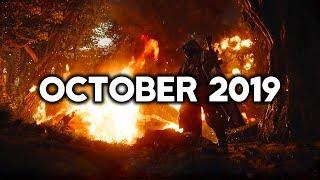 Top 10 New Upcoming Games Of October 2019 | Pc,ps4,xbox One,switch (4k 60fps)