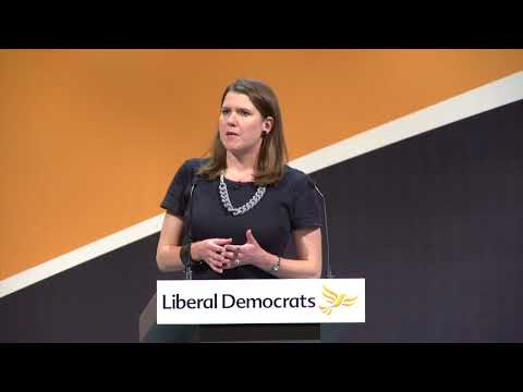 Jo Swinson's speech to conference - Bournemouth 2017