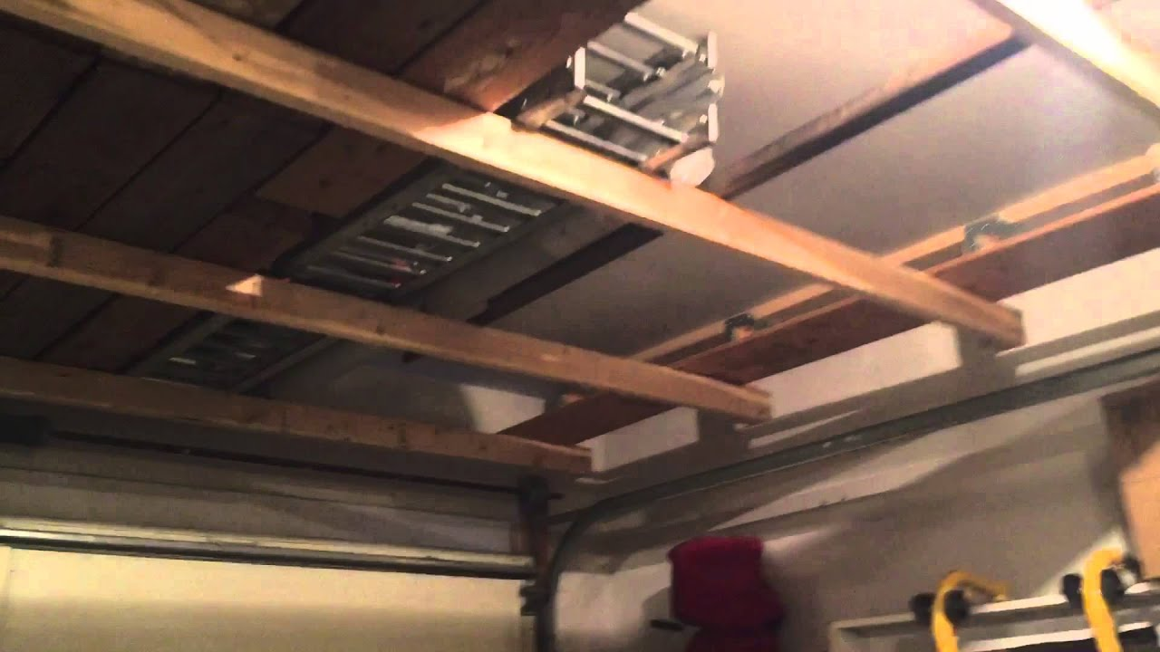 60 above garage door storage