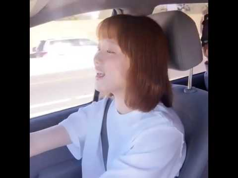 Lee Sung Kyung is singing (A WHOLE NEW WORLD)