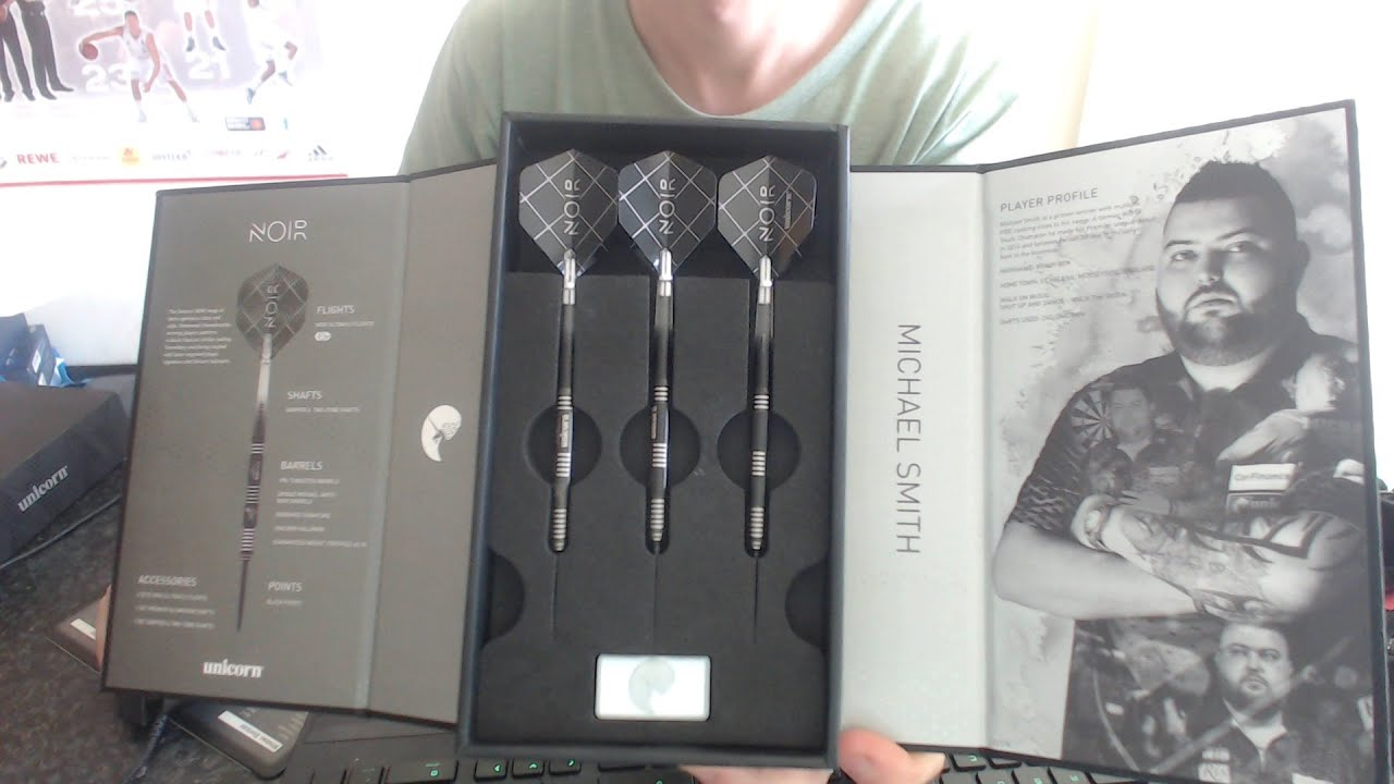 Unboxing New Michael Smith Darts