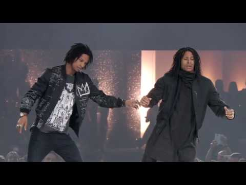 Les Twins THE DANCE 2016 Urban Dance Competition PERFORMANCE in Zürich