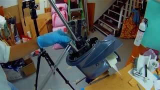 Yamaha T9.9 remplacement impeller de la pompe à eau