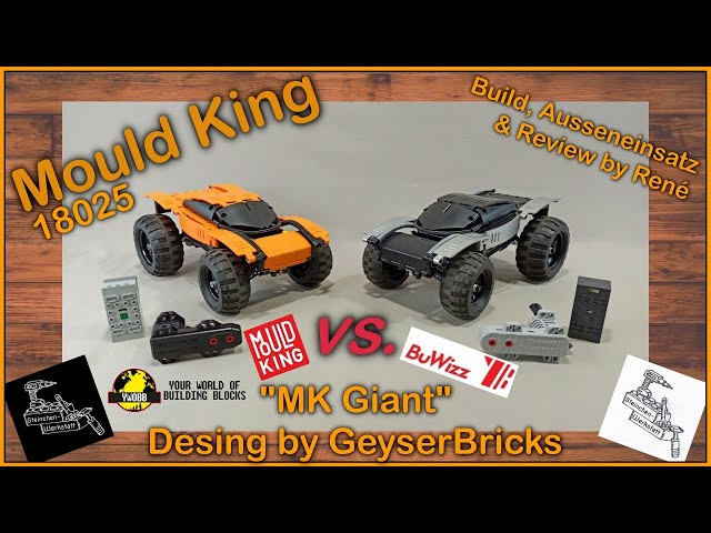 Mould King vs. BuWizz | Kampf der Buggy Motoren, ein Vergleich im 18025 MK Giant