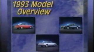 Buick - 1993 Model Overview