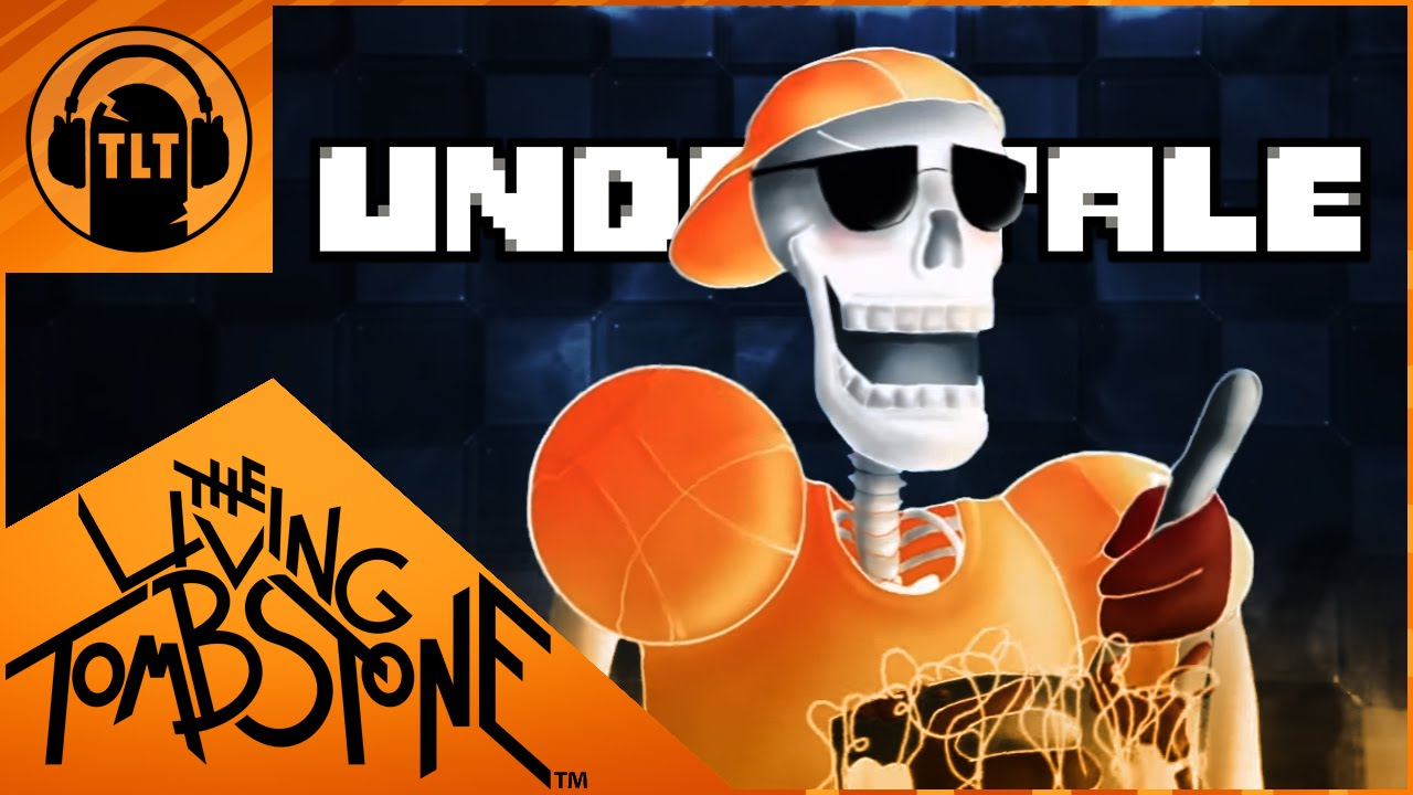 Undertale Song   Bonetrousle Remix   The Living Tombstone   YouTube