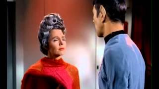 Amanda guilt trips Spock