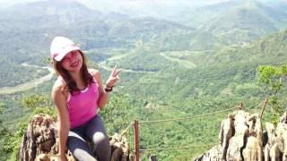 #voyaJERYLL climbing up Mt. Daraitan